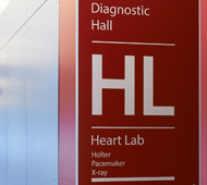 Sign for Heart Lab